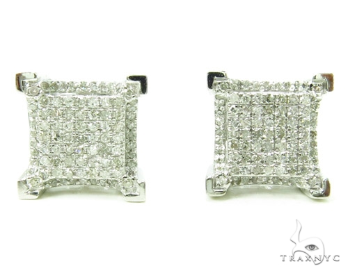Prong Diamond Earrings 37897 Stone