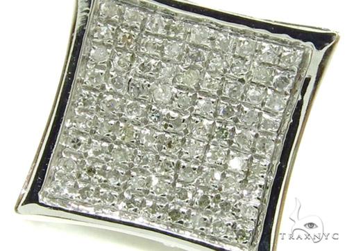 Prong Diamond Earrings 37904 Stone