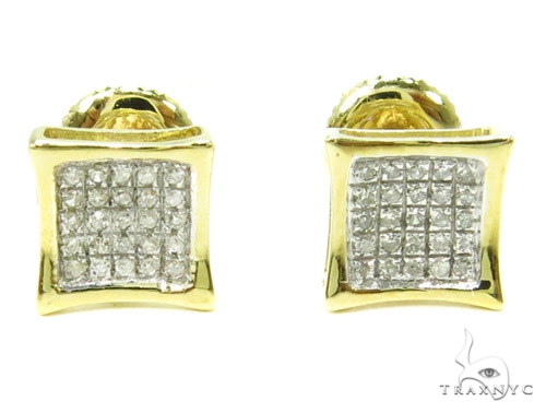 Prong Diamond Earrings 37909 Stone