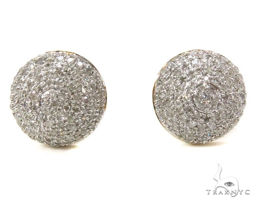 Prong Diamond Earrings 39508 Stone