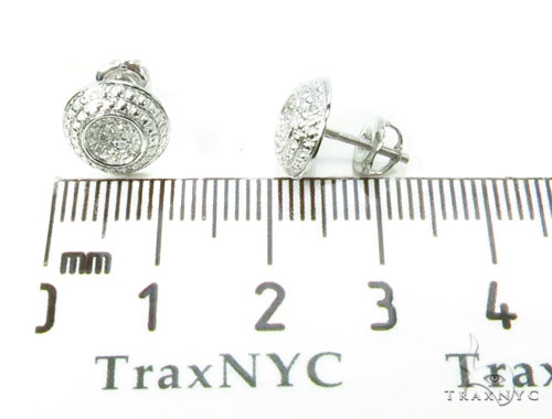 Prong Diamond Earrings 39661 Stone