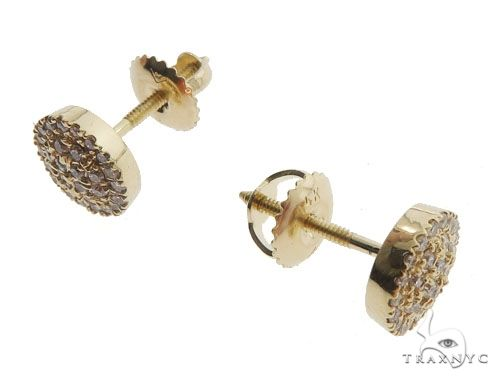 Prong Diamond Earrings 40389 Stone