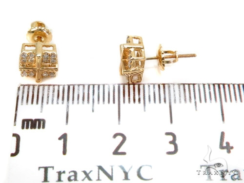 Prong Diamond Earrings 40515 Stone