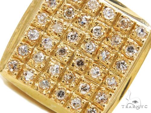 Prong Diamond Earrings 40521 Stone