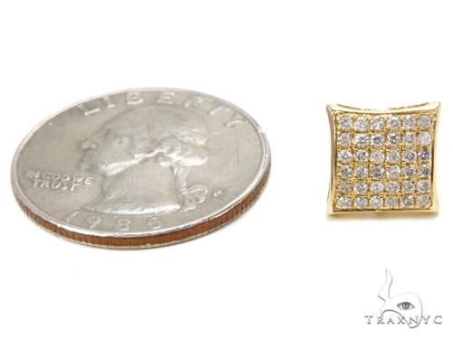 Prong Diamond Earrings 40527 Stone