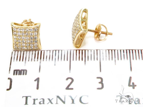 Prong Diamond Earrings 40527 Stone