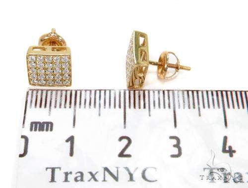 Prong Diamond Earrings 40540 Stone