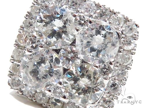 Prong Diamond Earrings 40650 Stone