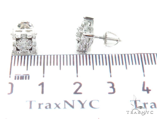 Prong Diamond Earrings 40959 Stone