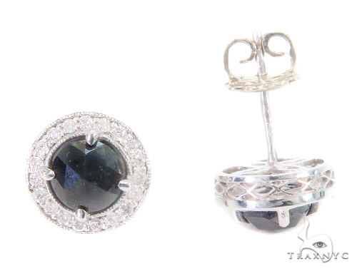 Prong Diamond Earrings 43884 Style