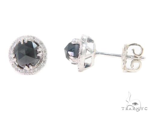 Prong Diamond Earrings 43886 Style