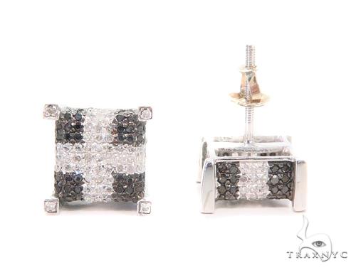 Prong Diamond Earrings 43926 Style
