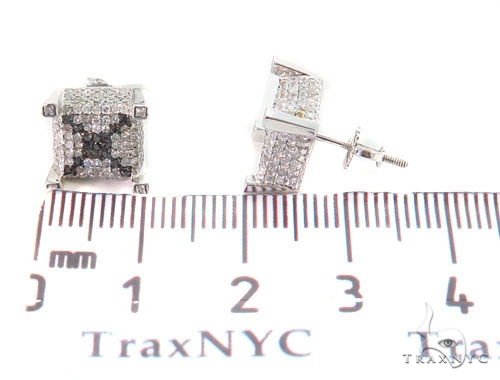 Prong Diamond Earrings 43932 Style