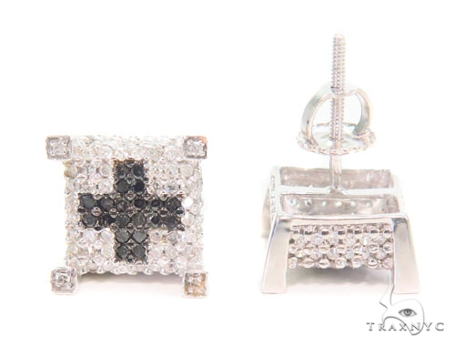 Prong Diamond Earrings 43933 Style