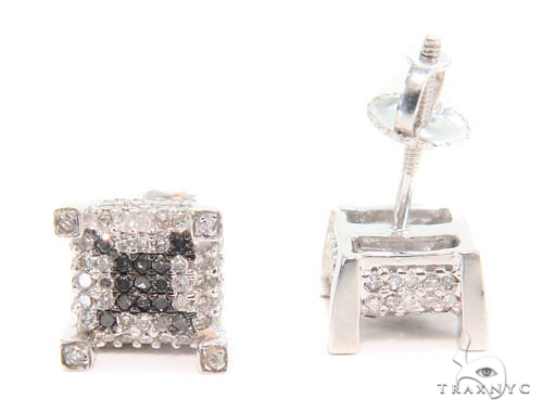 Prong Diamond Earrings 43935 Style