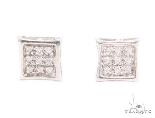 Prong Diamond Earrings 43942 Style