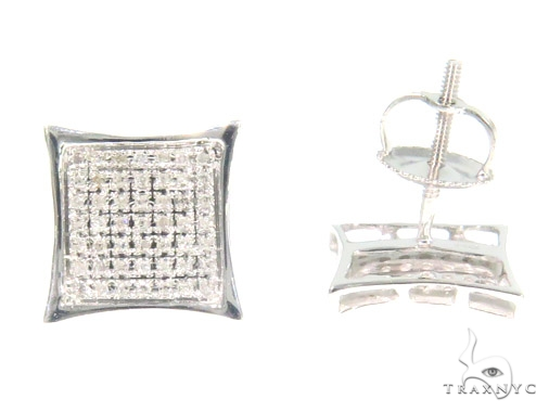 Prong Diamond Earrings 44326 Stone