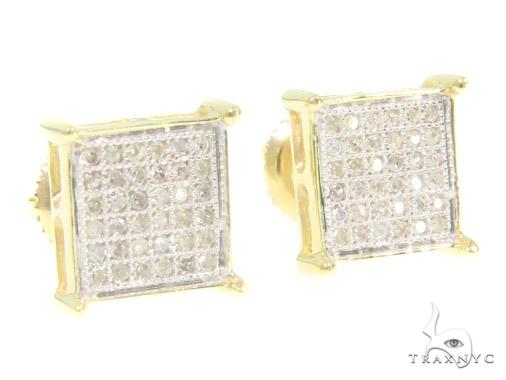 Prong Diamond Earrings 44327 Stone