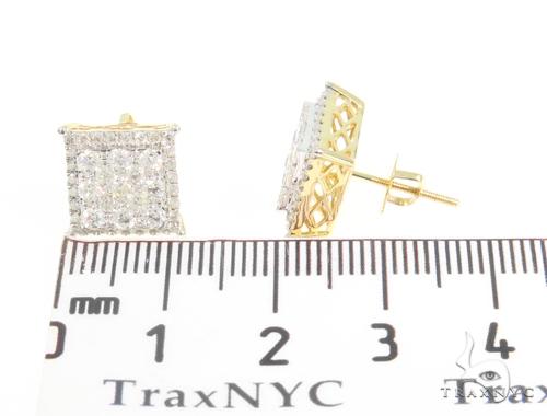 Prong Diamond Earrings 44713 Stone