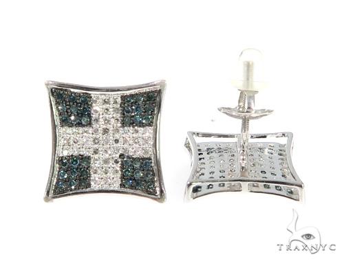 Prong Diamond Earrings 49210 Stone