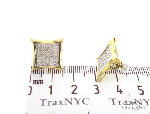 Prong Diamond Earrings 49242 Stone