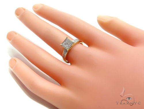 Prong Diamond Engagement Ring 41017 Engagement