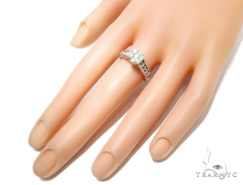 Prong Diamond Engagement Ring 41731 Engagement