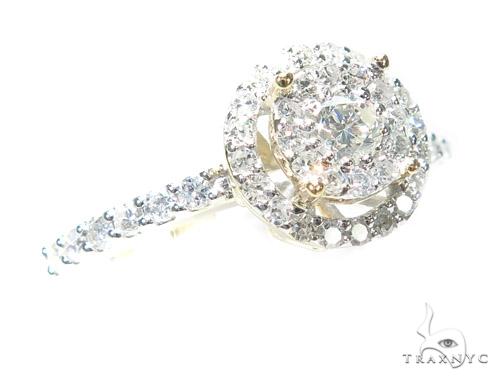 Prong Diamond Engagement Ring 42381 Engagement