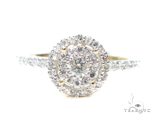 Prong Diamond Engagement Ring 42381 Engagement