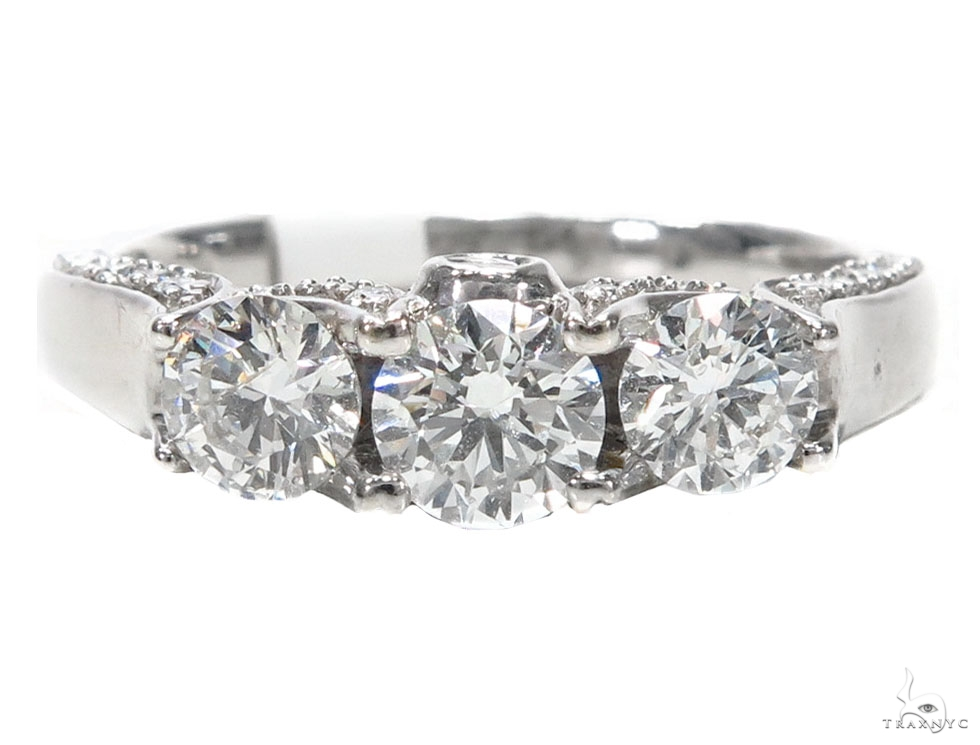 Prong Diamond Engagement Ring 44549 Engagement
