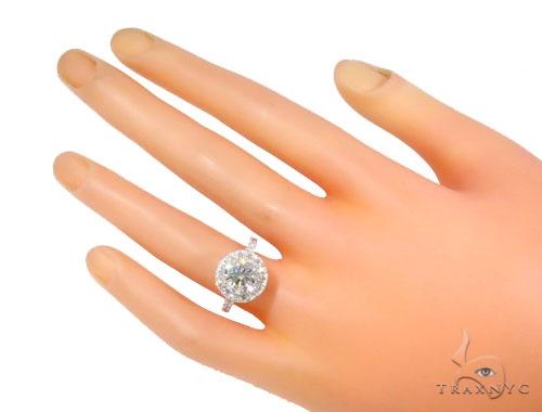 Prong Diamond Engagement Ring 45104 Engagement