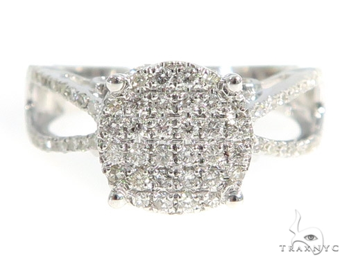 Prong Diamond Engagement Ring 49487 Engagement