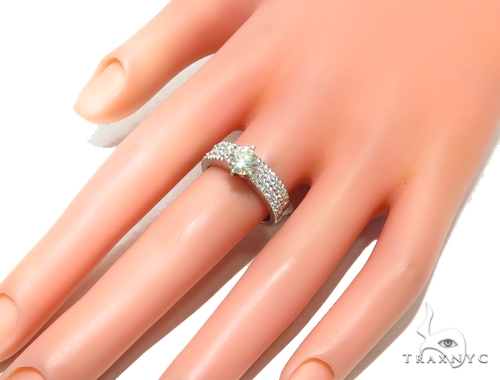 Prong Diamond Engagement Ring Set 41855 Engagement