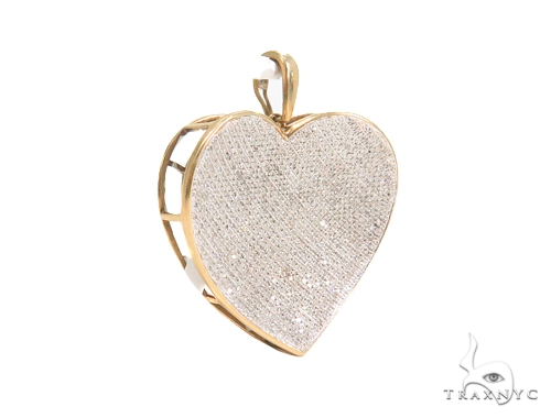 Prong Diamond Heart Pendant 44151 Style