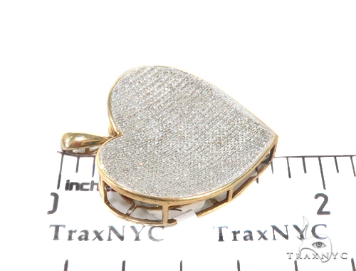 Prong Diamond Heart Pendant 44151 Style