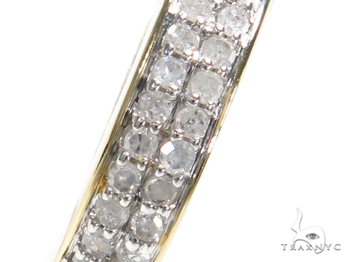 Prong Diamond Hoop Earrings 40892 Style