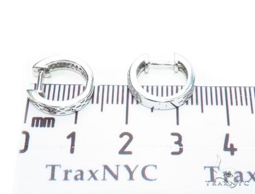 Prong Diamond Hoop Earrings 41877 Style