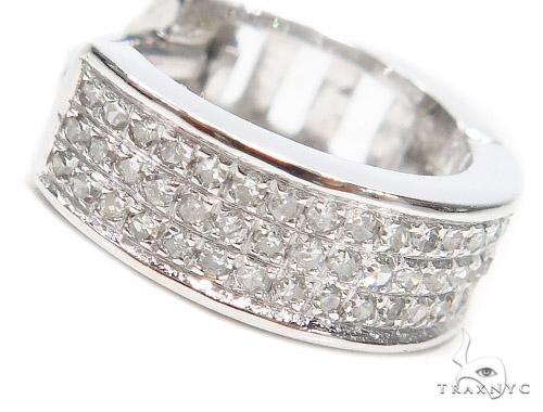 Prong Diamond Hoop Earrings 43097 Style