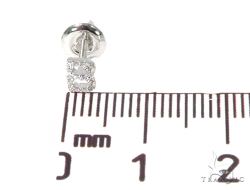 Prong Diamond Initial 'B' Single Earring 49519 Stone