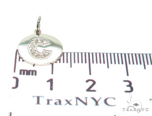 Prong Diamond Initial 'C' Pendant 40947 Style