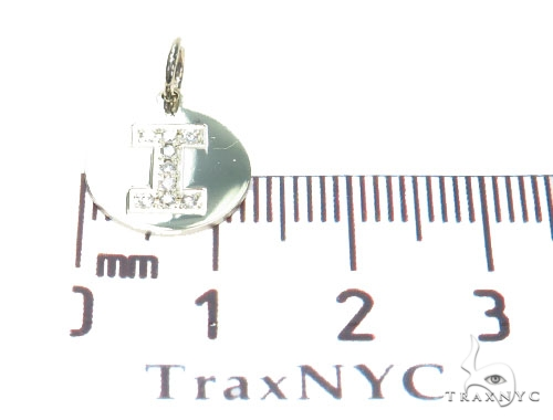 Prong Diamond Initial 'I' Pendant 40946 Style