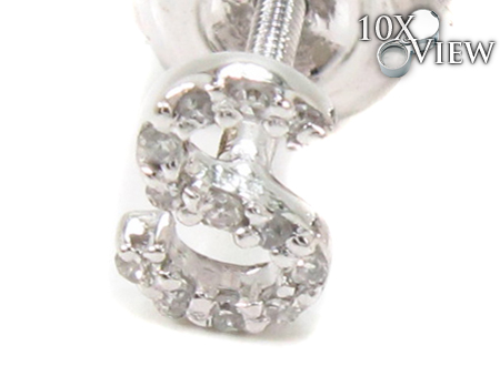 Prong Diamond Initial'S Stone