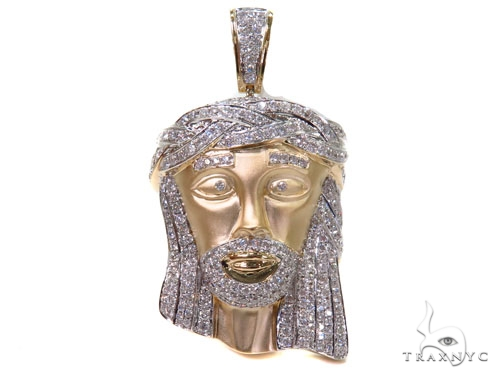 Prong Diamond Jesus Piece 40564 Style