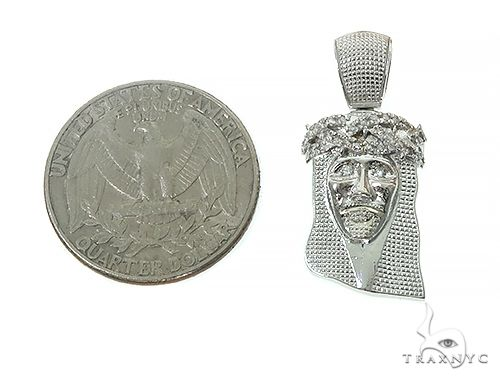 Prong Diamond Jesus Piece 41607 Style