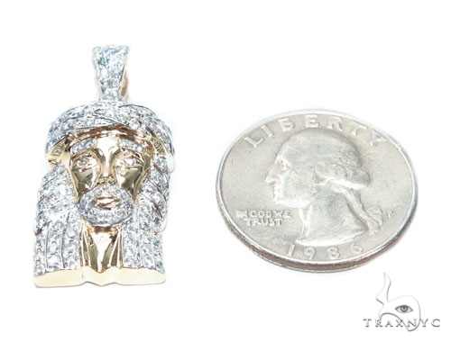 Prong Diamond Jesus Piece 42602 Style