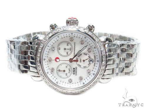 Prong Diamond Michele Watch 41581 Michele Diamond Watches