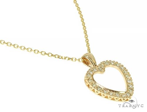 Prong Diamond Necklace 29180 Diamond
