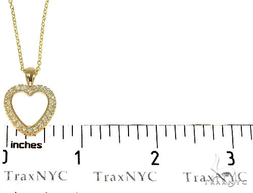 14K Gold Heart Diamond Set 29180 Diamond