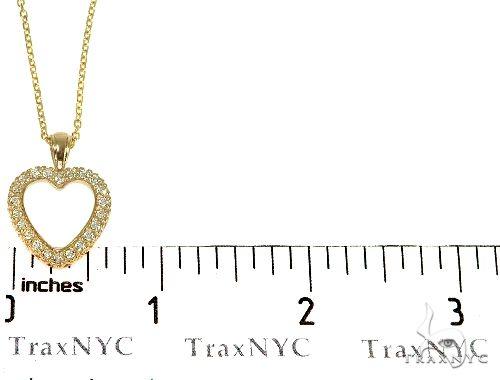 14K Gold Heart Diamond Set 29180 Diamond