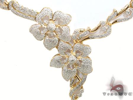 Prong Diamond Necklace 29274 Diamond